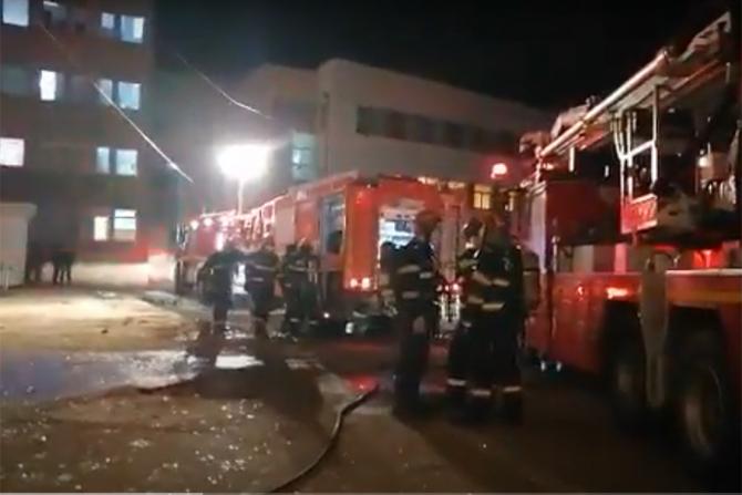 Incendiu devastator la secția ATI a Spitalului Județean din Piatra Neamț