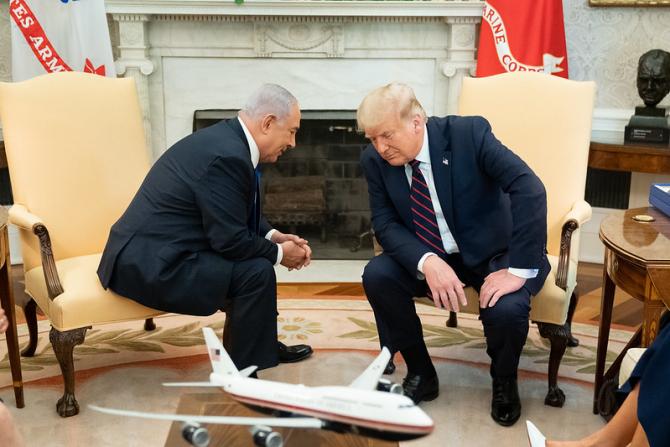 Benjamin Netanyahu și Donald Trump / Foto: Casa Albă