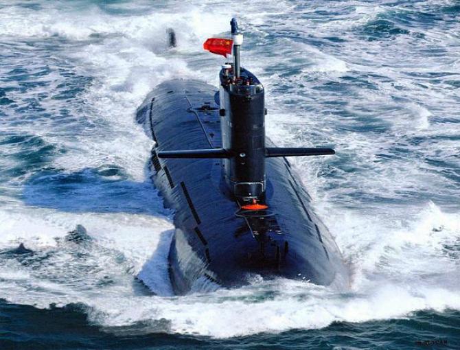 Submarinul chinezilor tulbură apele în Marea Chinei de Sud