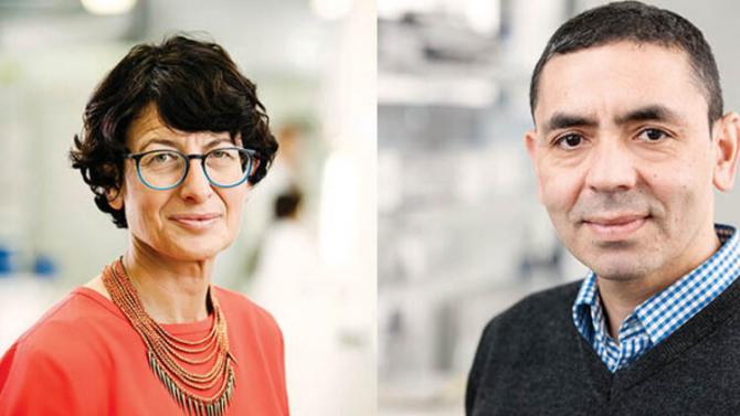 Ugur Sahi și Ozlem Tureci sunt creatorii vaccinului Pfizer