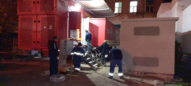 Unitatea Mobilă de Terapie Intensivă din curtea Spitalului Timișoara a cedat / Foto: Pressalert.ro