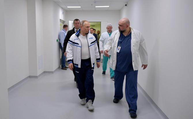 Vladimir Putin nu se va injecta cu vaccinul Sputnik / Foto: Kremlin