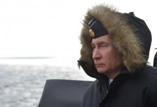 Preşedintele rus Vladimir Putin s-a SCUFUNDAT