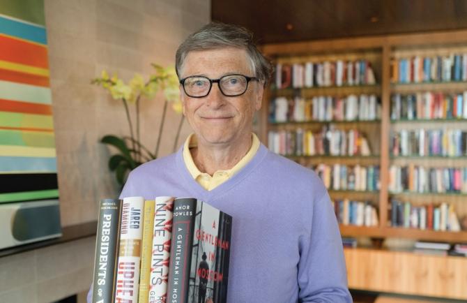 Gates enumeră o grămadă de motive de optimism