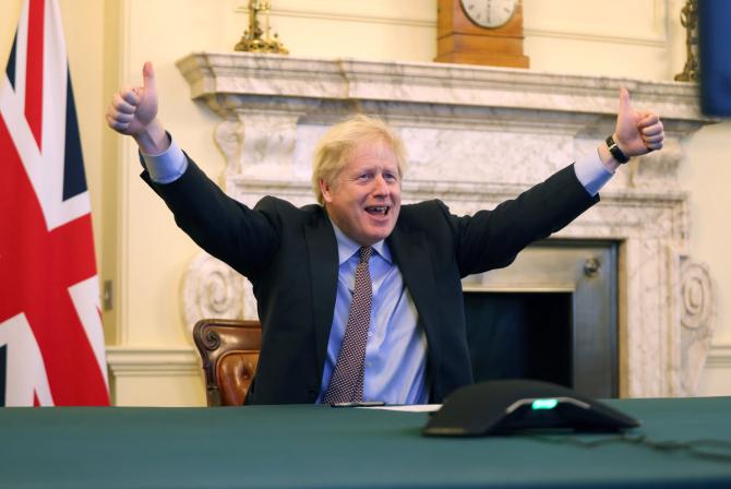 Marea Britanie: Boris Johnson, vaccinăm toată populația adultă  până în iulie