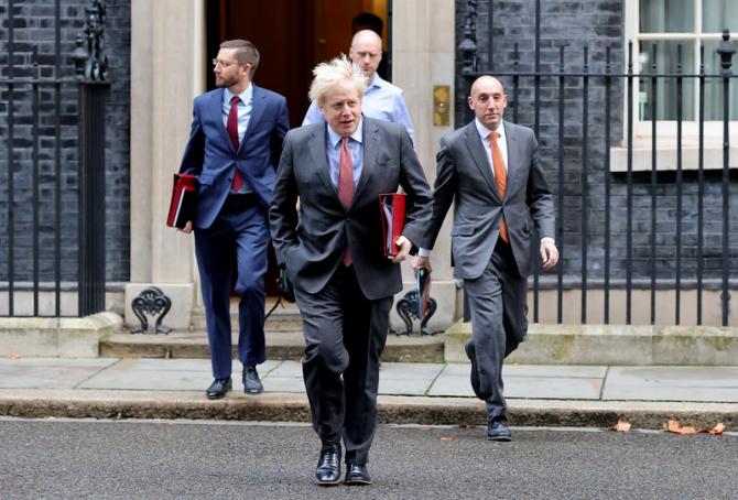 Premierul Boris Johnson