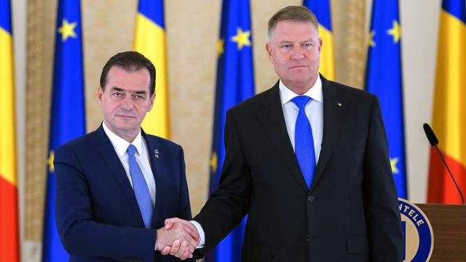 Ludovic Orban și Klaus Iohannis de fapt au o problemă