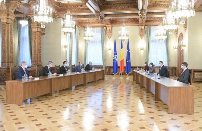 Intâlnirea coaliției cu președintele Klaus Iohannis