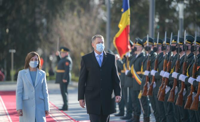 Maia Sandu și Klaus Iohannis