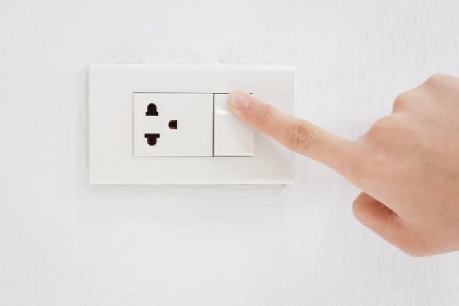 Alimentarea cu energie electrică, ÎNTRERUPTĂ