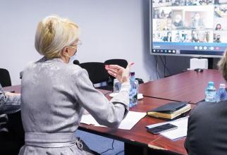 Ministrul Muncii la o întâlnire importantă