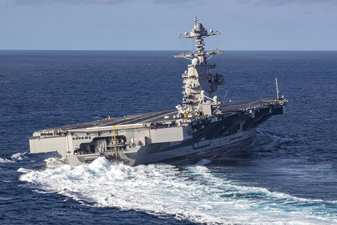 USS Gerald R. Ford / Foto: US Navy