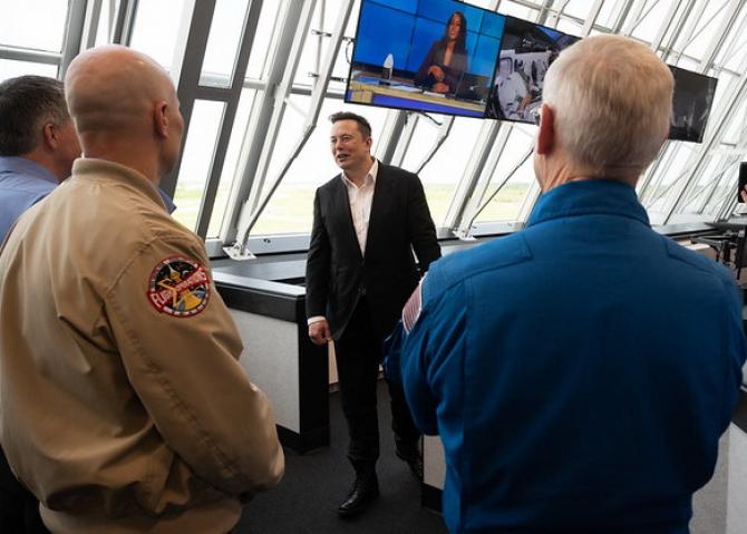 Elon Musk / Foto: NASA / Flickr