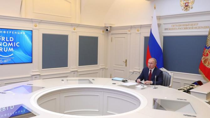 Liderul rus vede totul în negru