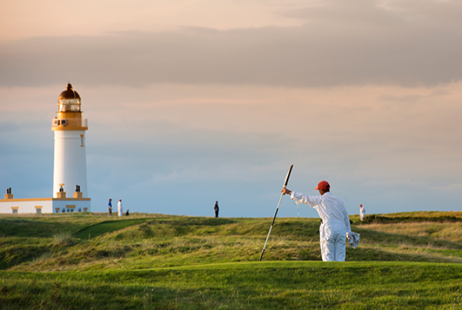 Terenul de golf de la Trump Turnberry