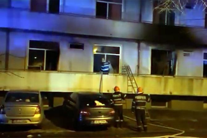 Un al saptelea pacient a decedat în urma incendiului de la spitalul Matei Balș