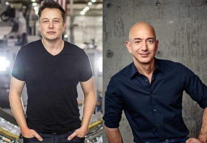CEARTĂ MONSTRU între Elon Musk şi Jeff Bezos. Află MOTIVUL