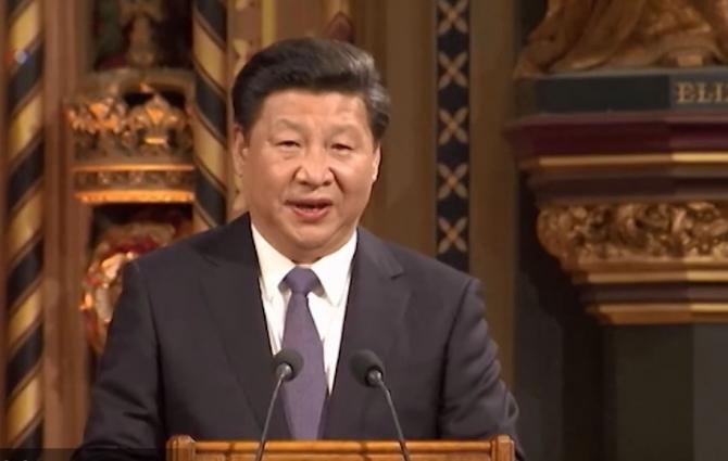 Președintele Chinei, discurs apocaliptic
