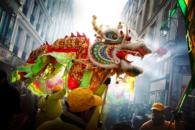 Anul nou chinezesc este vineri