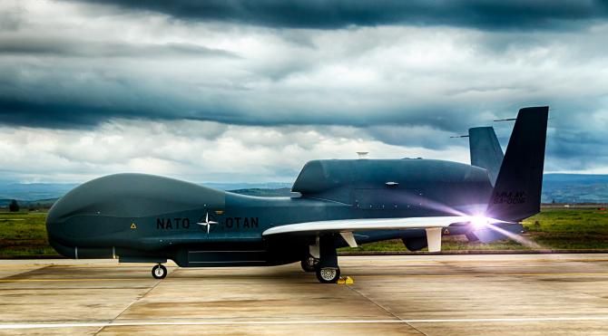 NATO s-a înarmat cu un nou tip de drone