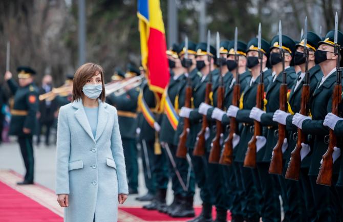 Președintele Moldovei, Maia Sandu