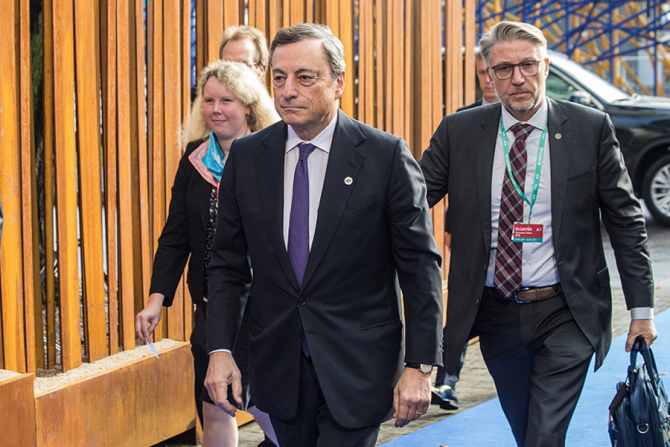 Mario Draghi a fost nevoit să preia conducerea Guvernului e la Roma