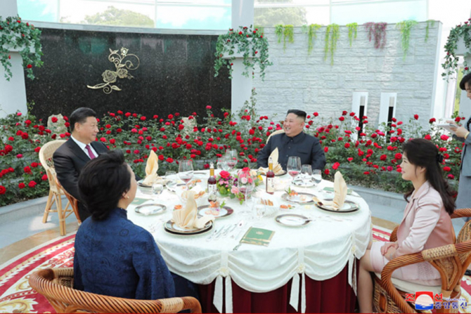 Ri Sol-Ju l-a însoțit pe Kim Jong-Un în vizita din China