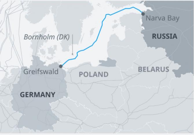 Blinken şi-a exprimat convingerea că Nord Stream 2, gazoductul în construcţie dintre Rusia şi Germania, contravine intereselor Uniunii Europene şi subminează Ucraina.