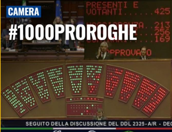 Vot în Parlamentul italian