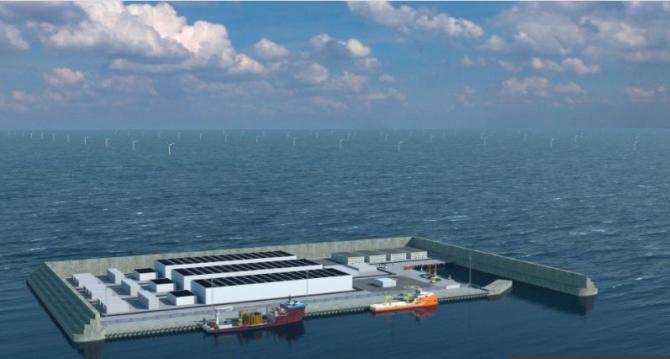 Prima insulă energetică din lume va fi la fel de mare ca 18 terenuri de fotbal