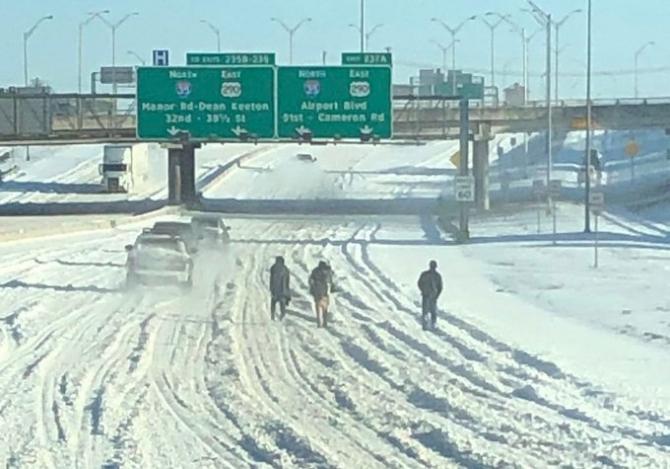 Gerul a lovit năpraznic în locuitorii statului Texas