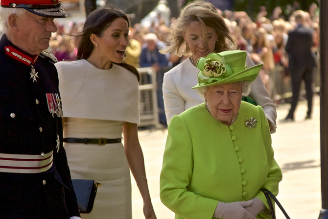 Regina și ducesa de Sussex