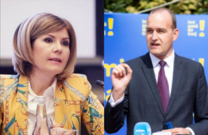 Elena Cristian către Dan Vîlceanu: Să REFUZAȚI să intrați cu mine în emisiune că poate scapă țara de tâmpeniile dumneavoastră