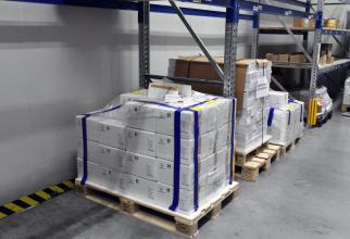UE a blocat un transport de vaccinuri