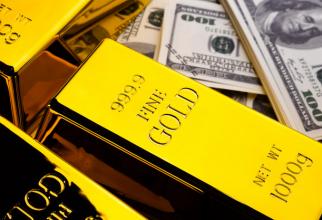 Gramul de aur a crescut ușor