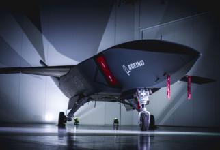 Drona militară a companiei Boeing Australia, denumită ATS - Airpower Teaming System, a zburat pentru prima dată