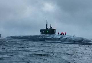 Unul dintre submarinele Rusiei