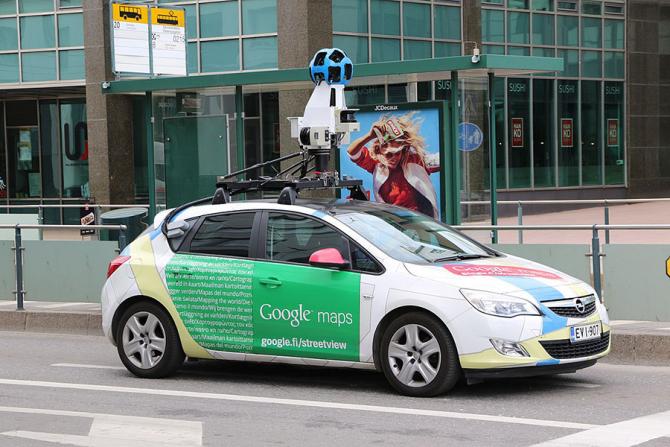 Mașșinile Googloe Street VIew revin pe străzile din România