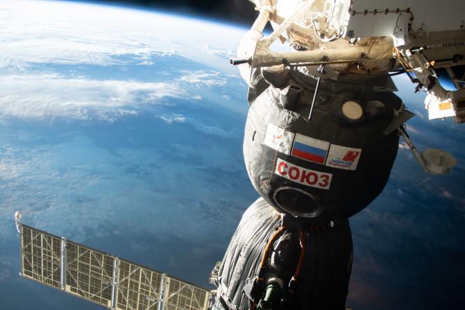 Fisurile de pe Stația Spațială Internațională a fost remediată