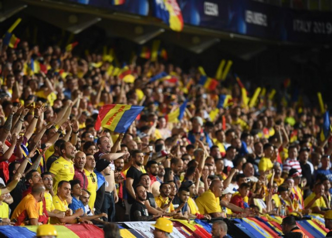 """""""Vor fi 4.300 de fani armeni mâine la meciul României, 30% din capacitatea stadionului! În Europa, fotbalul are parte de sprijinul suporterilor"""", se arată pe site-ul FRF"""