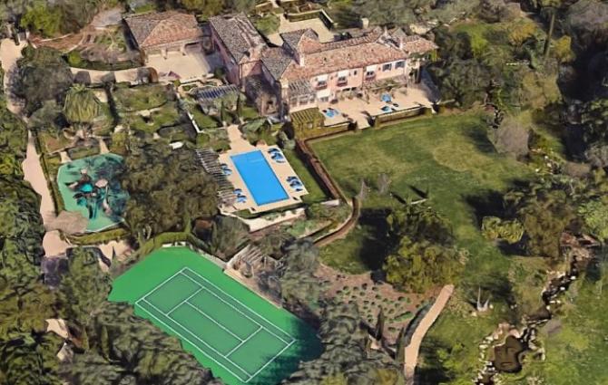 Locuința ducilor de Sussex din Montecino, California