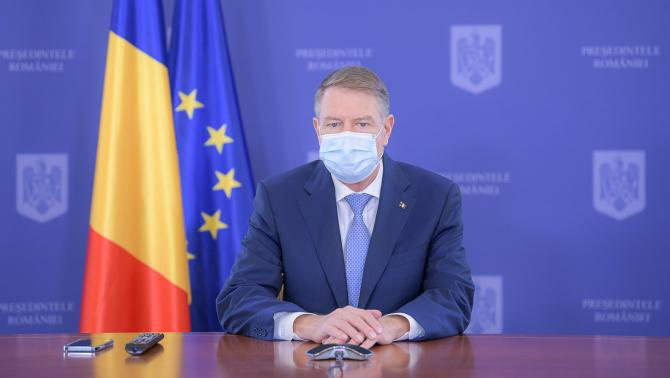 Klaus Iohannis: În noaptea de Înviere se ridică restricţiile
