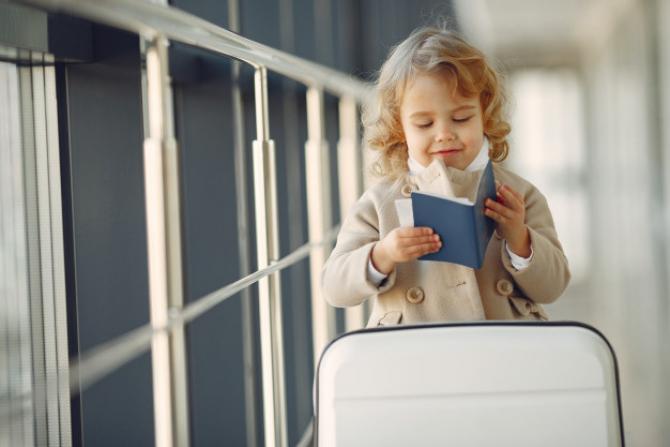 Copii au nevoie de pașaport
