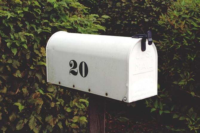 Înștiințarea va ajunge în cutia poștală