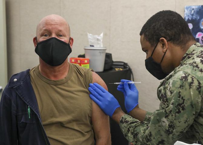 Americanii se vaccinează rapid
