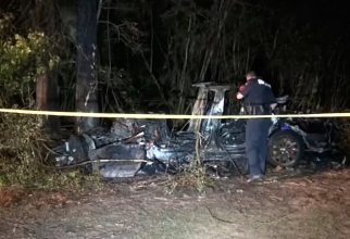 Doi oameni au murit în incendiu