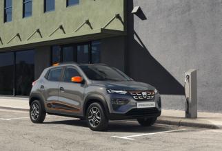 """Noul automobil electric Dacia Spring promite să fie un succes, având în vedere numărul pre-comenzilor""""."""