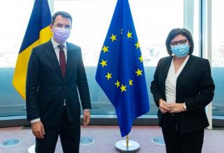 Cătălin Drulă și Adina Vălean