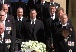 Înmormantarea prințului Philip