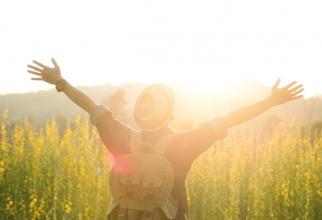 În această zi, soarele este vizibil la poli la o înălțime constantă, care este puțin mai mare de 23 de grade.